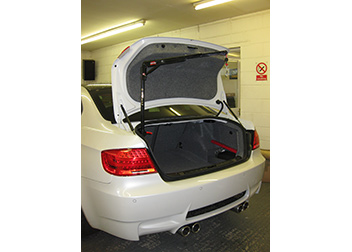 BMW M3 40kg 2 Way Hoist fitted by David Relph Vehicle Adaptations